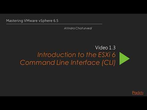Xxx Mp4 Introduction To ESXi 6 Command Line Interface CLI In VMware VSphere 3gp Sex