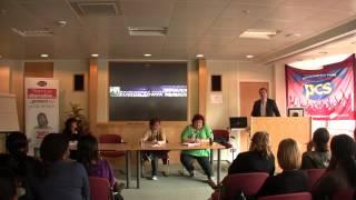 Tim Armit (HMRC) addresses branch Olympics meeting 20th March 2012