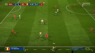 PS4 FIFA 18 Gameplay Brazil vs Belgium [HD]