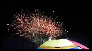 Meriah Tahun Baru Pesta  Kembang Api alun alun Purbalingga durasi panjang