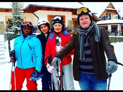 Skiing In Poland 2017 video
