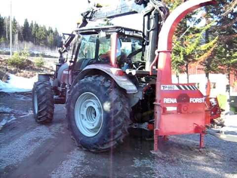 Rena Forst Flisekspressen bioenergi flisproduksjon