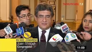 Sheput saluda que fiscal Pablo Sánchez conduzca investigación contra juez Hinostroza