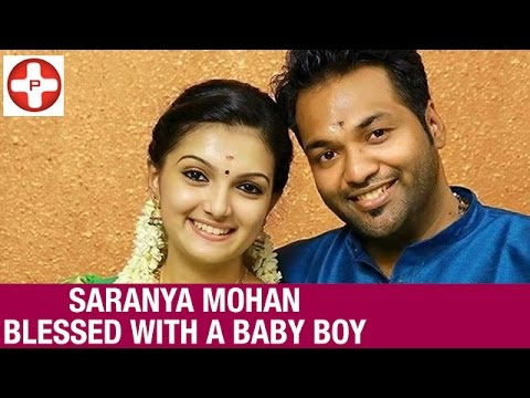 Actress Saranya Mohan Blessed With a Baby Boy | Latest Tamil Cinema News | PluzMedia Tamil