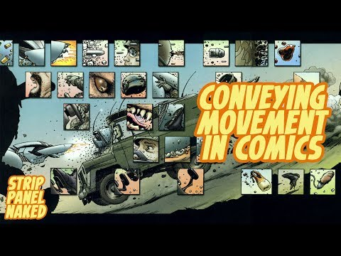 Conveying Movement in We3 | Strip Panel Naked