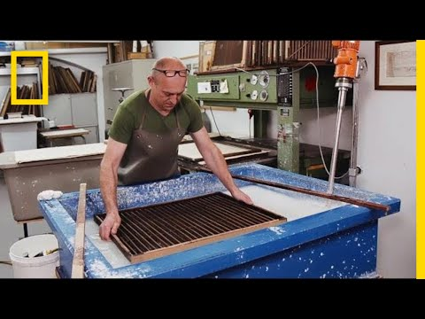 Xxx Mp4 See How Paper Is Still Being Made By Hand Today Short Film Showcase 3gp Sex
