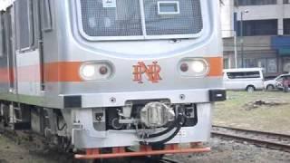 PNR brandnew Railcar runs over old big Railgap