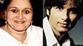 Shahid Kapoor Fights For Step-Mom Supriya Pathak - Latest Bollywood News