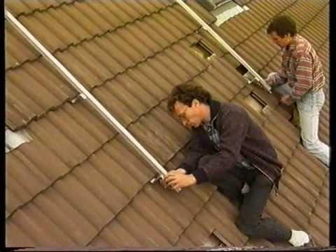 1999 Der EURO Sonnenkollektor Schritt für Schritt Aufdach und Indachmontage sowie Freiaufstellung