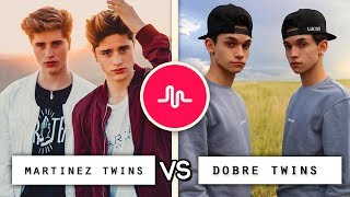 Dobre Twins vs Martinez Twins Musical.ly Video Compilation / Who