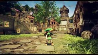 (DOWNLOAD LINK) Zelda As Imagined - Kakariko Village Unreal Engine 4