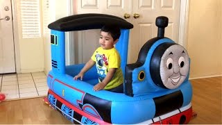 Giant Thomas and Friends Toy Train Ball Pits, Disney Cars McQueen  Egg Surprise