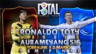 F8TAL SEMIFINAL VS DJMARIO | | FUT 15 | | AUBAMEYANG SIF VS RONALDO TOTY