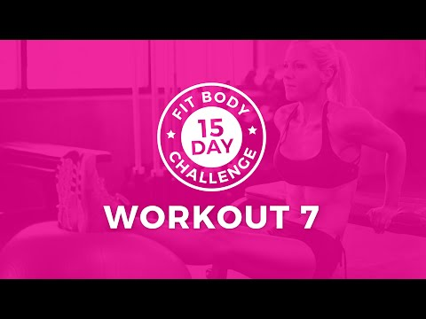 15 Day Challenge - Workout 7