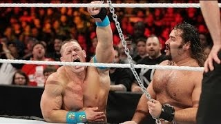 John Cena vs  Rusev – Russian Chain Match for the United States Championship Match