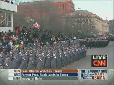 watch 2009 Inaugural Parade - The Army Goes Rolling Along