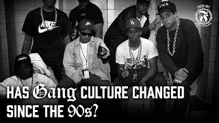 Has Gang culture changed since the 90