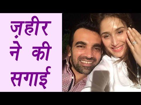 Xxx Mp4 Zaheer Khan Gets Engaged To Bollywood Actress Sagarika Ghatge वनइंडिया हिन्दी 3gp Sex