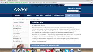 Arvest Online Banking Login | How to Access your Account