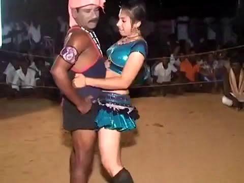 Tamilnadu Girl's Romantic Record Karagattam Dance Show 2015 | Indian Hot Record Dance Video Part 246