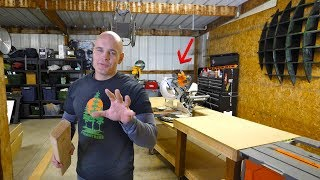 What is Enginered Wood? Building a Miter Saw Table! #TeamTrees