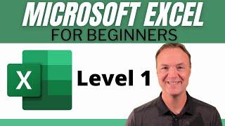 Microsoft Excel - 2018 Beginners Tutorial