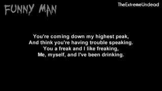 Hollywood Undead - Party By Myself [Lyrics Video]