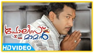 Poilce Maman Malayalam Movie | Scenes | Baburaj meets a teacher related to murder case | Indranse