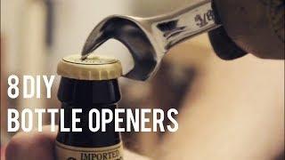 8 DIY Bottle Openers (Diresta Inspired)