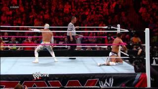 Rey Mysterio & Sin Cara vs. Team Rhodes Scholars: Raw, Oct. 29, 2012
