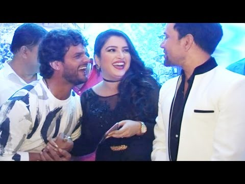 Xxx Mp4 Amrapali Dubey Khesari Lal Yadav Bhojpuri Film Muhurat Production No 4 5 Dinesh Lal Yadav 3gp Sex