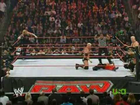 Jeff Hardy & Rey Mysterio vs Mr Kennedy & Finlay RAW