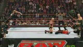 Jeff Hardy & Rey Mysterio vs Mr Kennedy & Finlay - RAW