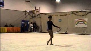 Grayson Baden 2004-2005 Level 5 Rope Routine