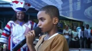 Liberian Blind Boy Sings Flavour Mama
