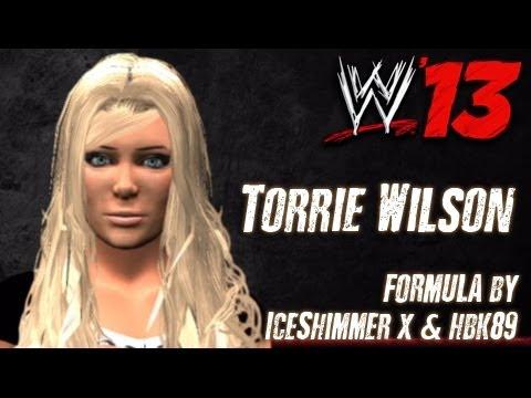 WWE '13 Torrie Wilson CAW Formula By IceShimmer x & hbk89
