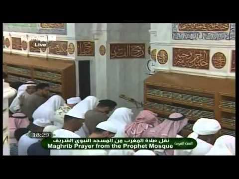 imam masjid nabawi membatalkan sholat maghrib