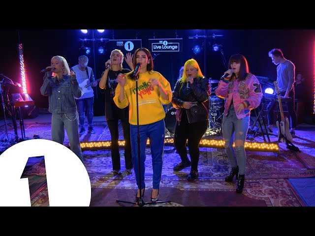 Dua Lipa - IDGAF ft. Charli XCX, Zara Larsson, MØ, Alma, in the Live Lounge