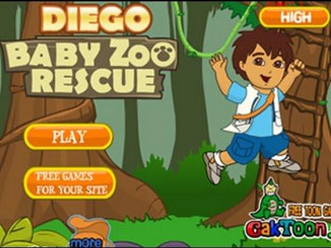 Diego Baby Zoo Rescue Dora Aventureira
