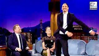 Zlatan Ibrahimovic Proves He Can Do Anything - Even Floss Dance