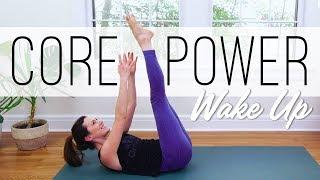 Core Power Wake Up     Yoga With Adriene