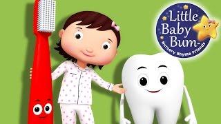 This Is The Way We Brush Our Teeth | Part 2 | Nursery Rhymes | By LittleBabyBum!