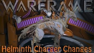 Warframe - More Helminth Charger Changes