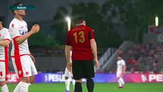 PS4 PES 2017 Gameplay USM Alger vs Wydad Casablanca HD
