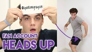 Fan Account Heads Up!!
