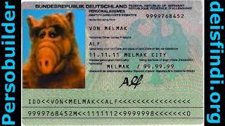 Alf hat Spass mit Katzen und dem Persobuilder (DEISFINDI.ORG/persobuilder.html) - NEU und ALT