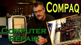 Compaq Desktop Computer Repair - No Activity on Startup