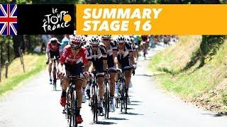 Summary - Stage 16 - Tour de France 2017