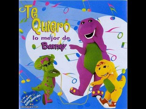 Te Quiero lo mejor de Barney CD Completo