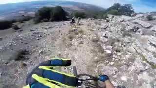 Pico Frentes - Fuentetoba - Bajando por el Canchal